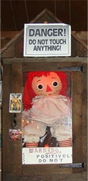 evil annabelle doll sillykhan