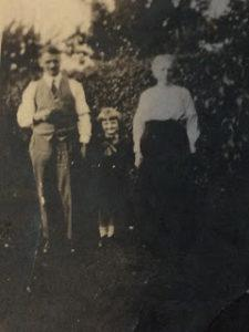 Arthur, Dorothy and Sarah Jane