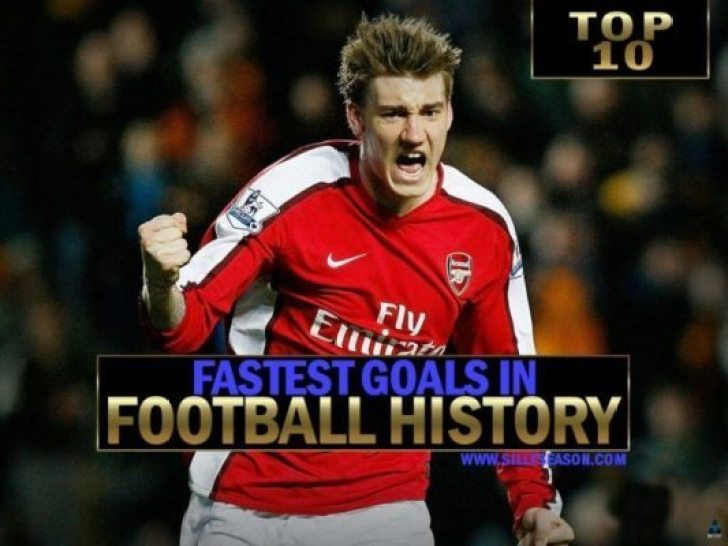 Top 10 Fastest Goal Ever - Of All Time In Football