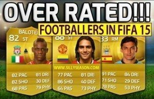 Top-10 Overrated players on FIFA 15