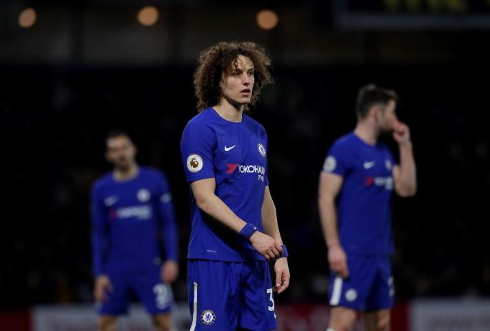 Underperforming footballers this season David Luiz