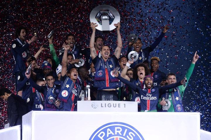French Ligue 1 Past Winners PSG