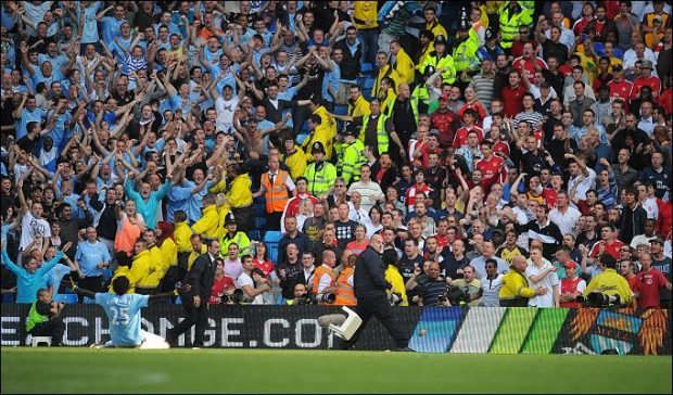Stunning Premier League moments Adebayor celebration