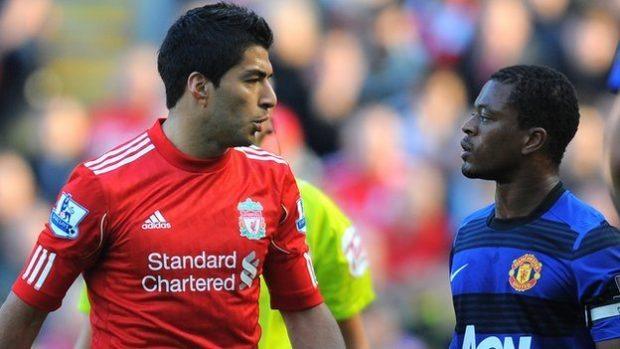 Stunning Premier League moments suarez evra