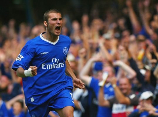 Chelsea players who failed drug tests Adrian Mutu