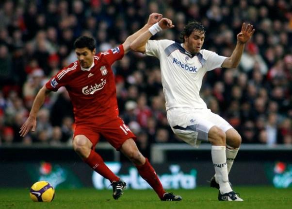 Best Champions League midfielders Xabi Alonso