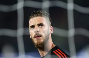 Predicted Manchester United XI vs West Brom De Gea