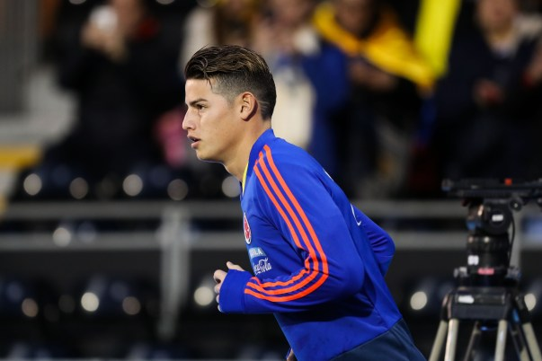 Colombia squad World Cup 2018 James Rodriguez