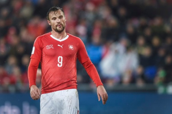 Haris Seferovic Switzerland squad World Cup 2018