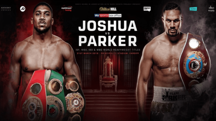 Anthony Joshua vs Joseph Parker what TV channel?