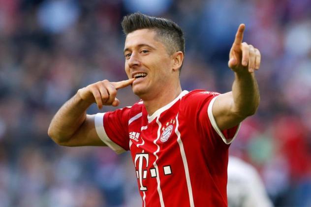 Top 10 Best Top Performing Footballers Robert Lewandowski