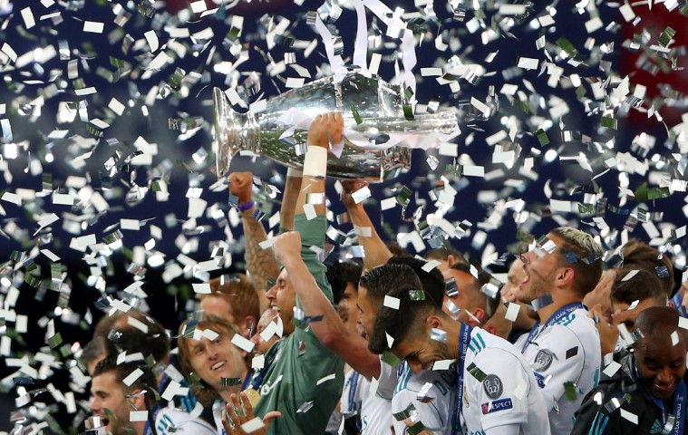 Real Madrid 13 time Champions League winner