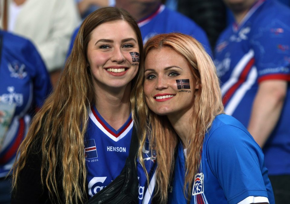 Beautiful female fans of FIFA World Cup 2014 and 2018 Hot Iceland female fans