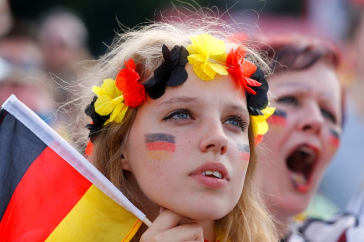 Beautiful female fans of FIFA World Cup 2014 and 2018 beautiful German female fans