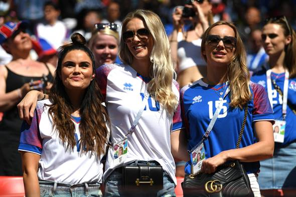 Beautiful female fans of FIFA World Cup 2014 and 2018 sexy Iceland female fans