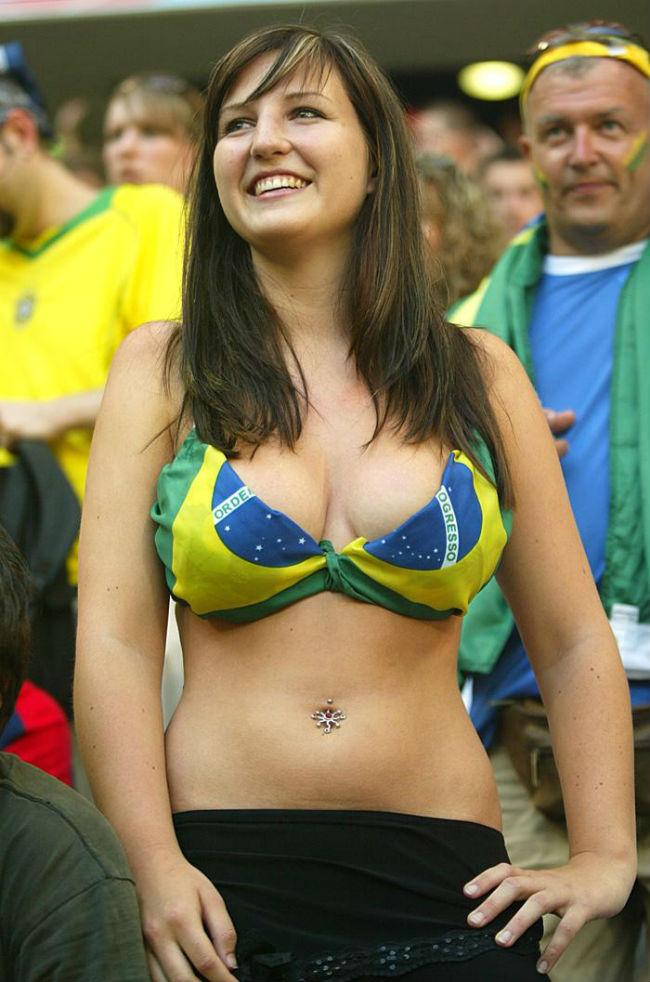 Brazil World Cup 2014-2018 hottest fans World Cup hottest Brazilian female fans
