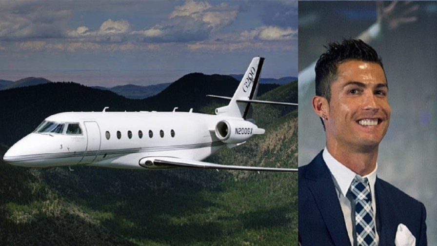 Footballers Who Own Expensive Private Jets Cristiano Ronaldo Gulfstream G650