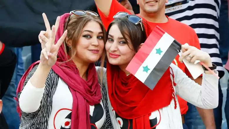 Images, Pictures and Photos of Beautiful, Sexy and Hot Iraq girls - Iraq Female Fans In World Cup 2018