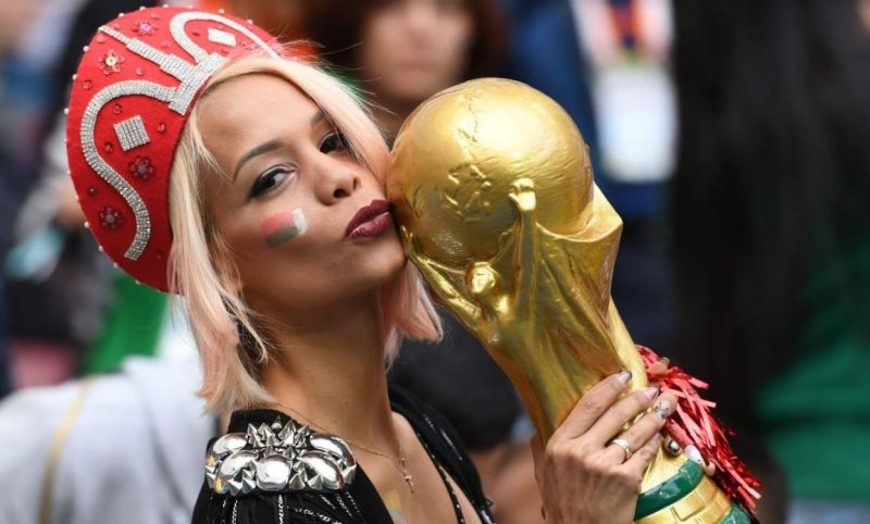 Russia Photos of hot female fans in World Cup 2018