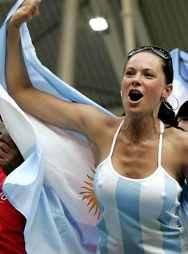 Top hottest fans World Cup 2014-2018