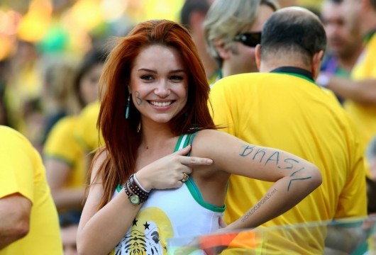 Top hottest fans World Cup 2014-2018 Russia sexy fans