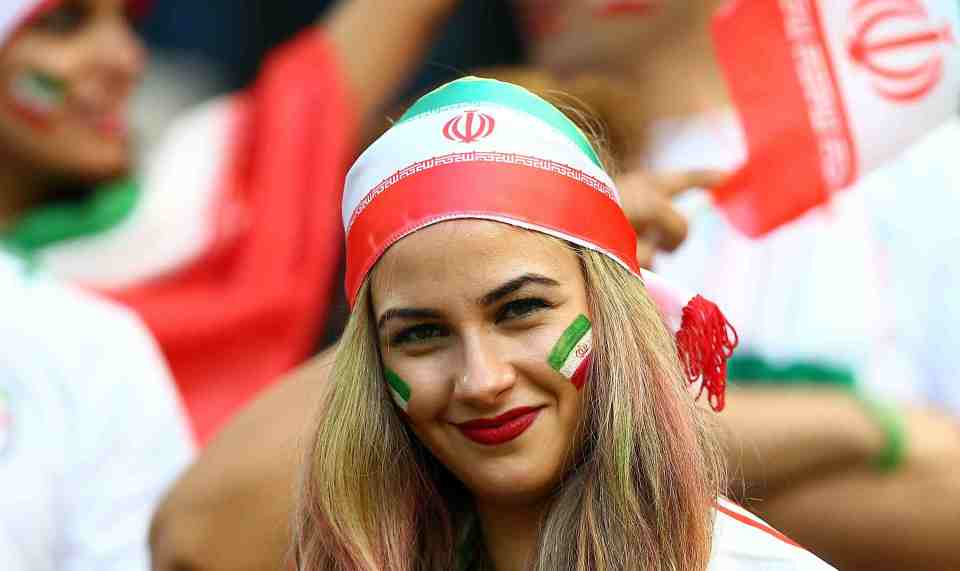 Top hottest fans World Cup 2014-2018- Sexy Iran female football fans