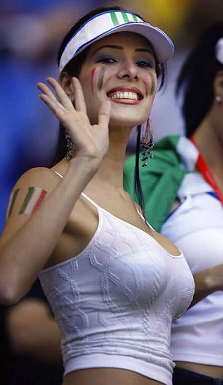 Top hottest fans World Cup 2014-2018 hottest fans World Cup