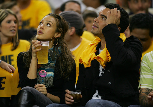 Jessica Alba hottest fans in sports