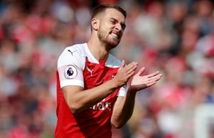 Aaron Ramsey Football Players Who are Out of Contract in Summer 2019