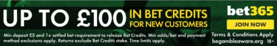 Betting sites with best odds- bet365