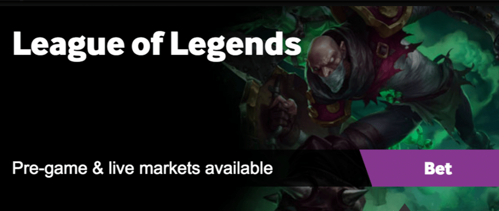 League Of Legends Betting Site