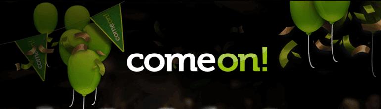 ComeOn bonus and bonus code