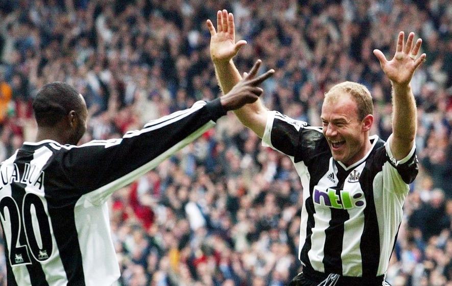 Fastest Premier League goal - Alan Shearer - Manchester City 0-2Newcastle United - 2003-01-18