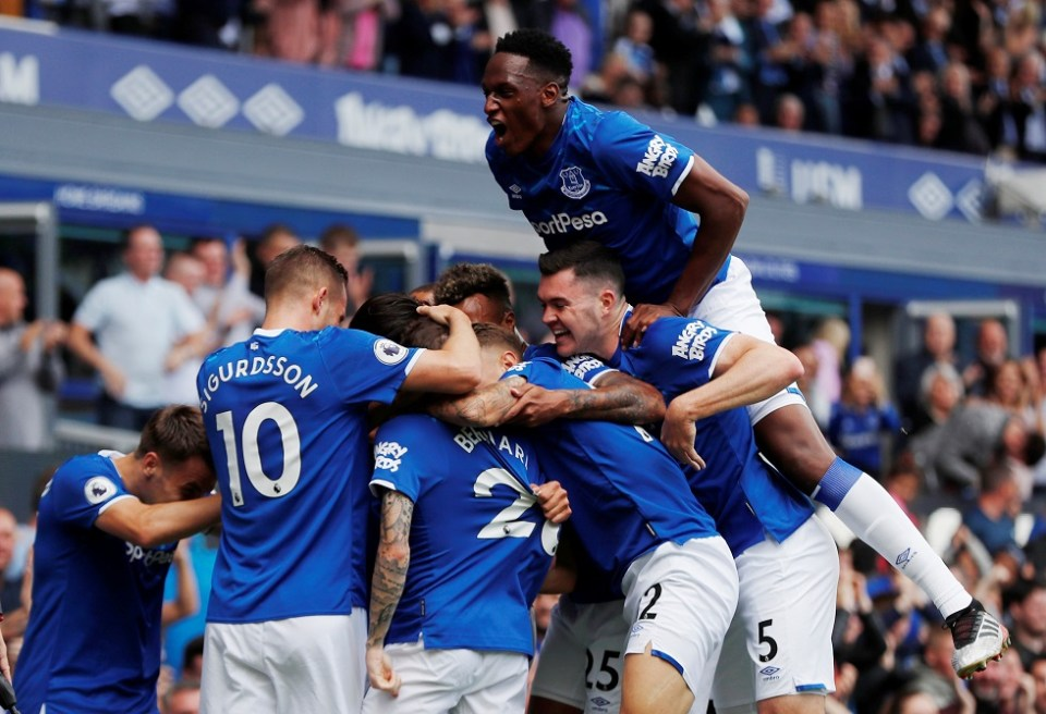 Everton Players Salaries 2020 (Weekly Wages)