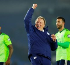 Neil Warnock Confident Of Escaping Relegation With Cardiff City