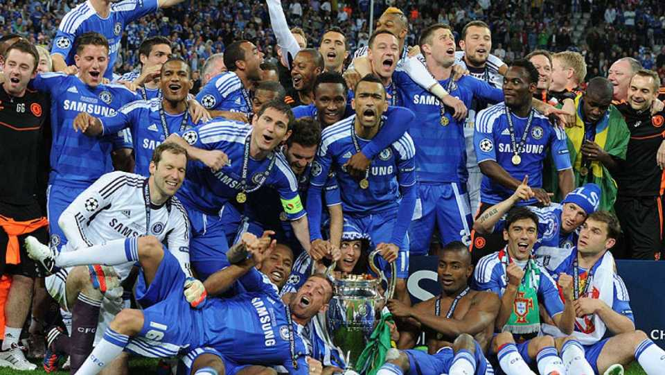 English teams with most Champions League trophies (wins & titles)