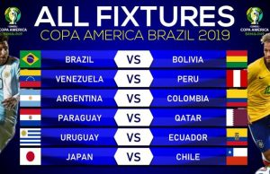 Copa America 2019 Fixtures: list with all matches schedule & time!