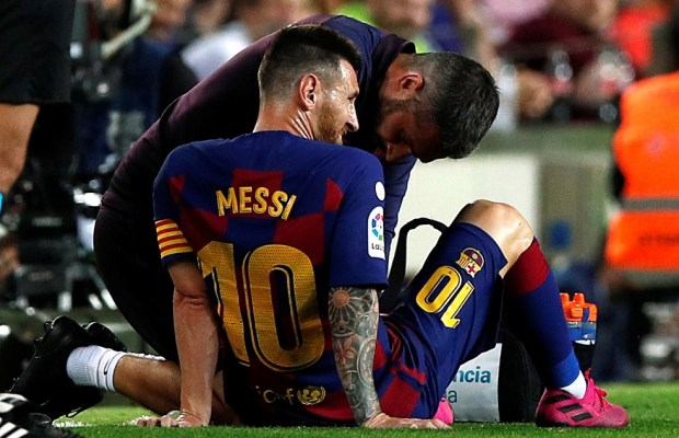 Barcelona Confirm Lionel Messi Injury