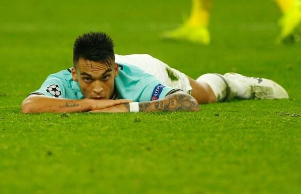 Lautaro Martinez Laments Second Half Display Against Dortmund