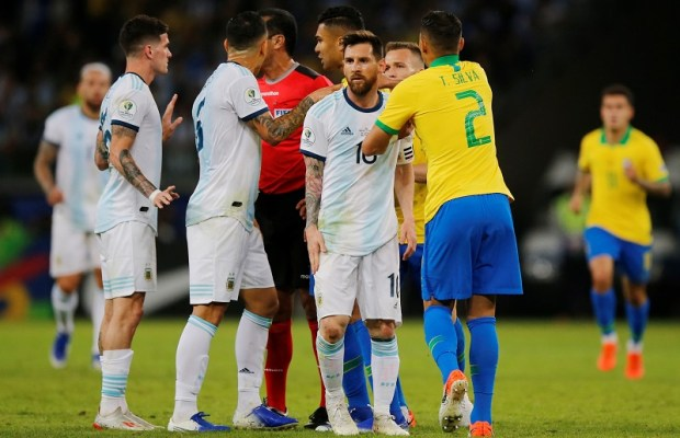 Lionel Messi slammed for rude behavior while playing for Argentina versus Brazil