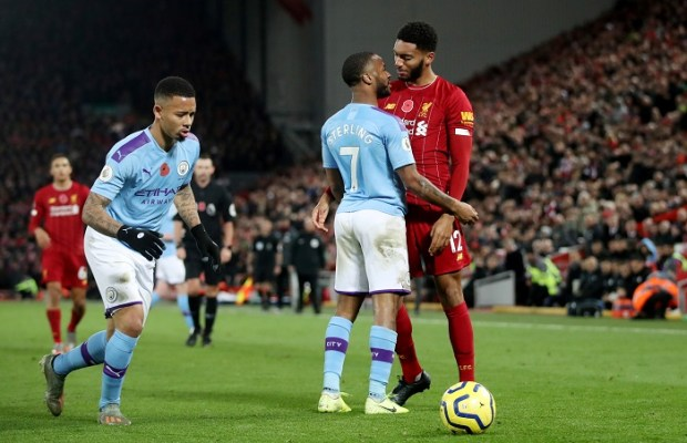 Sterling apologizes after Joe Gomez incident