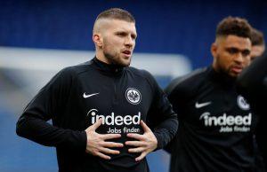 AC Mian forward Ante Rebic could return to former side Eintracht Frankfurt