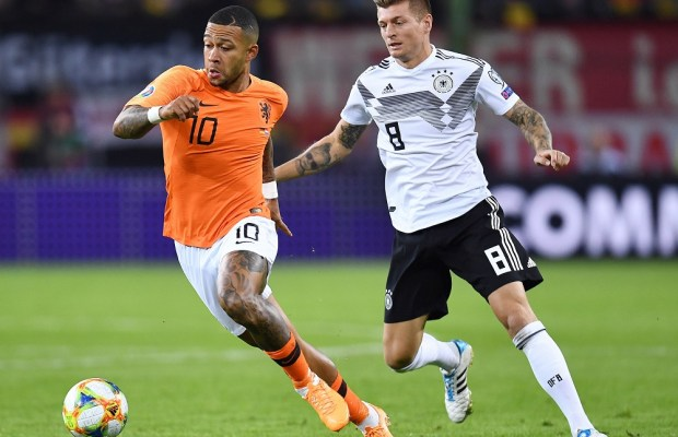 Lyon forward Memphis Depay could miss Euro 2020 after suffering ACL tear