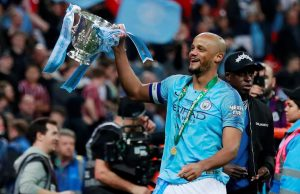 Pep reveals what he told Kompany before City exit