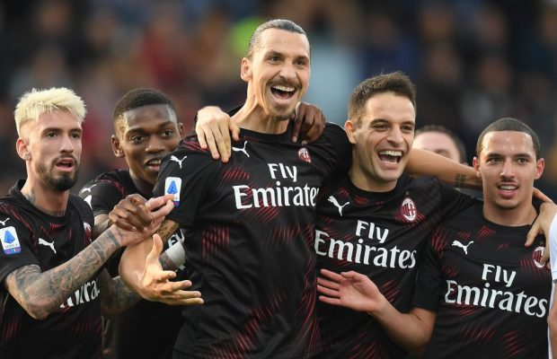 Zlatan Ibrahimovic scores his first AC Milan goal in second stint - VIDEO
