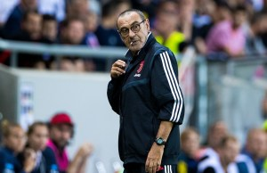 Maurizio Sarri Slammed Juventus Players For Slow Passing In Lyon Defeat
