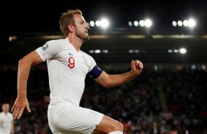 Top Euro 2020 Footballers Harry Kane England