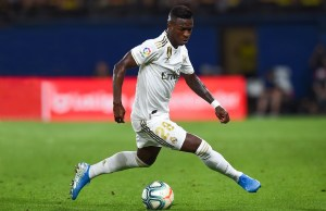 Vinicius moans at Madrid's bad luck