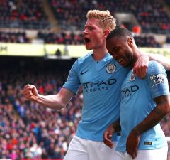 Manchester City To Hand New Deals To De Bruyne And Sterling