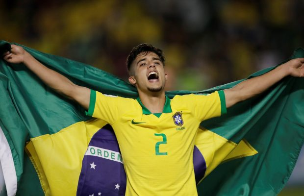 Manchester City seal first summer signing Yan Couto from Cortibia